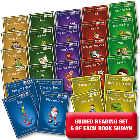 Dandelion Launchers, Units 1-7 - Guided Reading (168 Books)