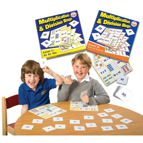 Multiplication & Division Bingo Smart Buy