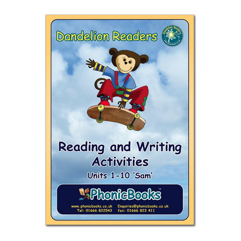 Dandelion Readers, Set 1 Units 1-10 'Sam' Reading & Writing Activities