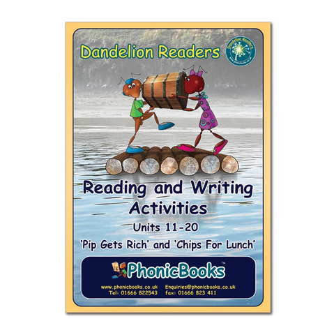 Dandelion Readers, Sets 1 & 2 Units 11–20 Reading and Writing Activities