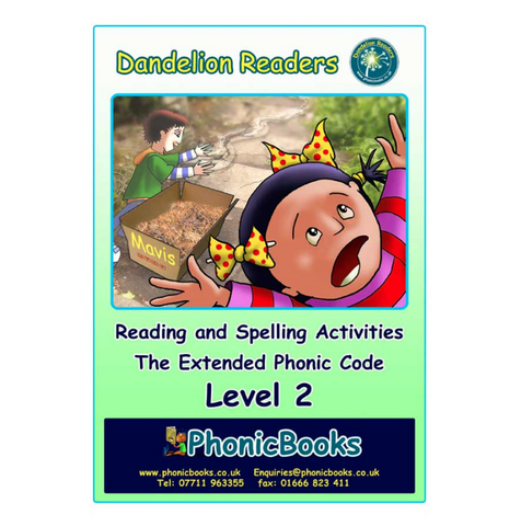 Dandelion Readers, Level 2 Reading & Spelling Activities