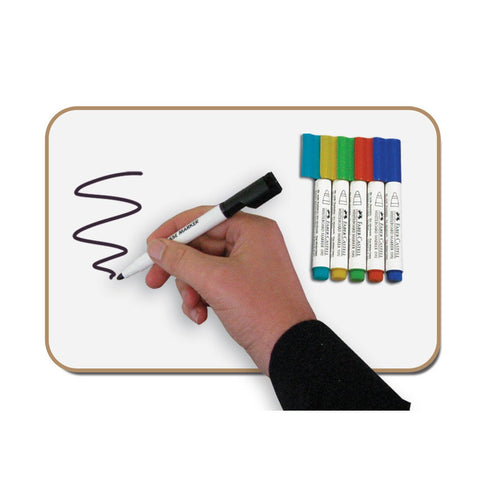 Set of Six A4 Whiteboards