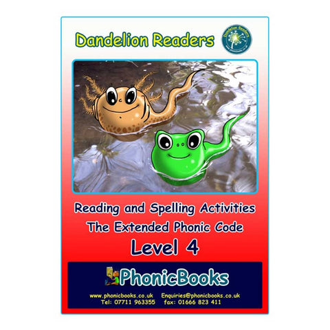 Dandelion Readers Level 4 Worksheets