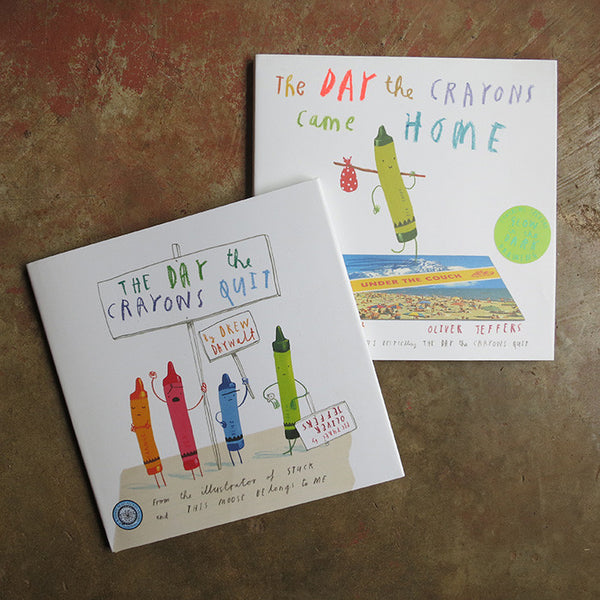 The Day the Crayons ... Two Book Set