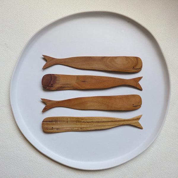Teak Whale Spreaders