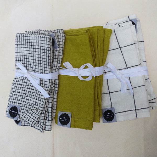 Linen Napkins: Set of Four