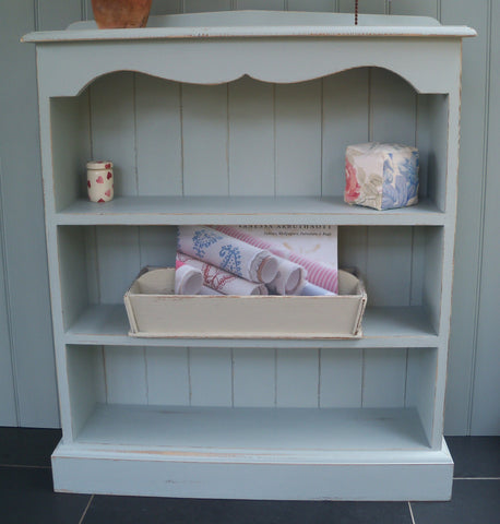 Painted Evias Bookcase