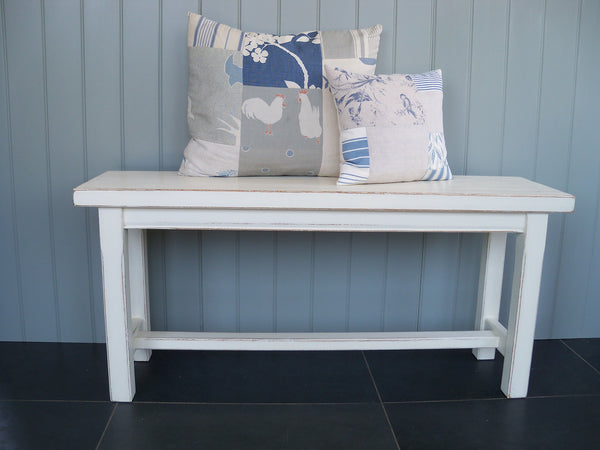 painted dining bench seat