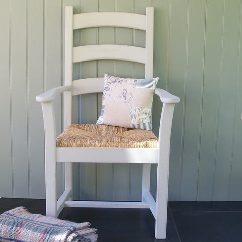 painted carver chair