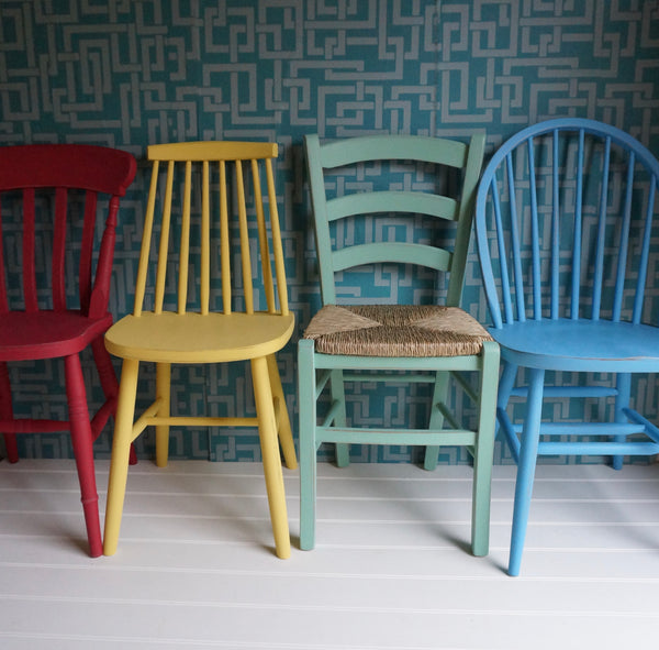 Painted 1960's Style Chair