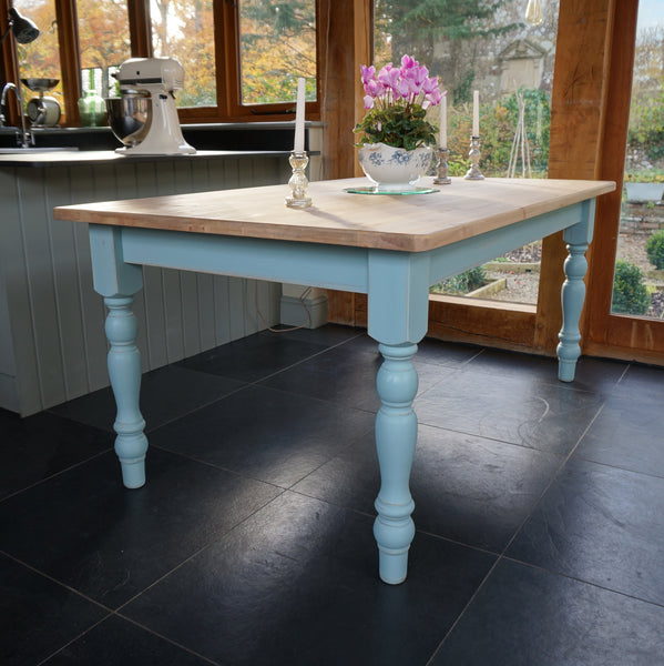 painted chilmark dining table
