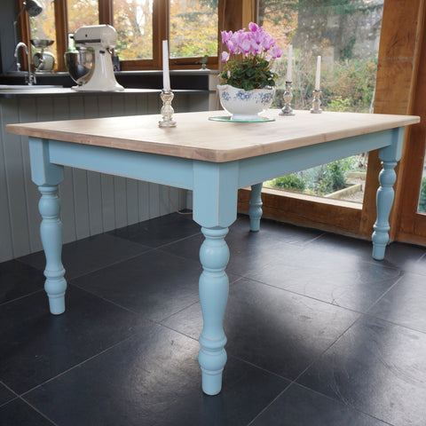 painted farmhouse table
