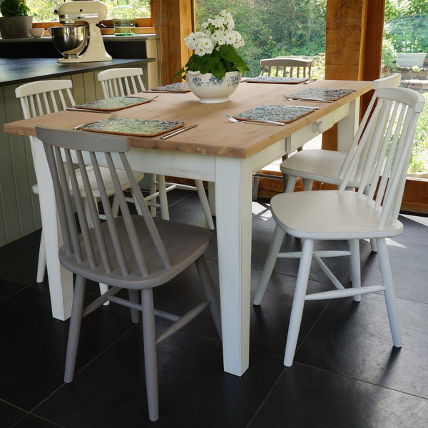 Fonthill Painted Table and 1960's Style Chairs