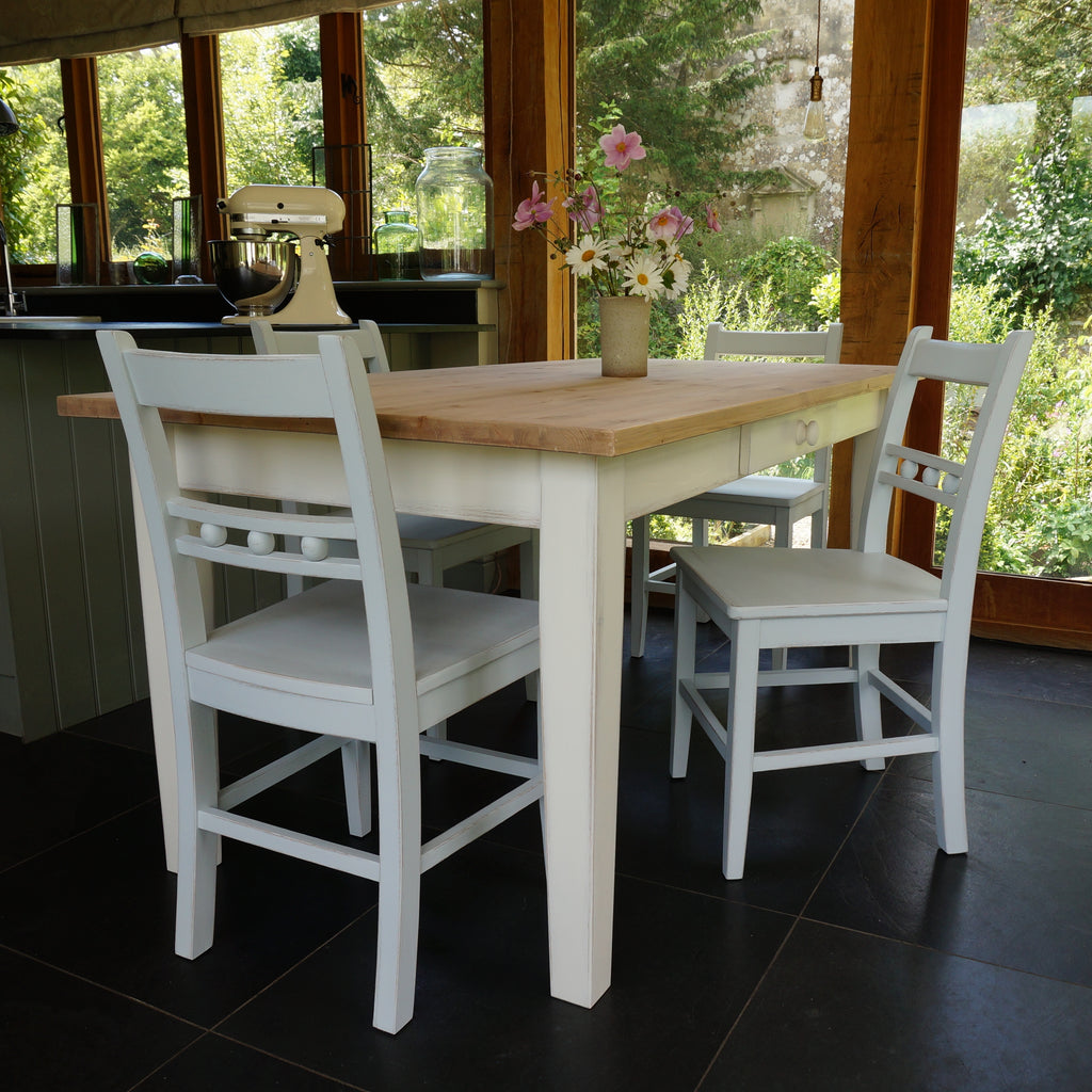 Painted Dining Table Made To Measure