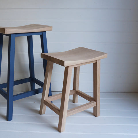 Scandi Low Stool