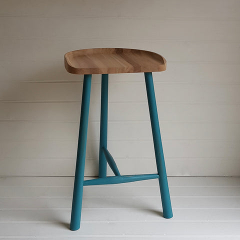 painted cricket bar stool