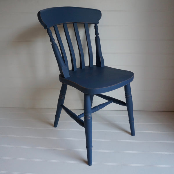 hand painted farmhouse chair