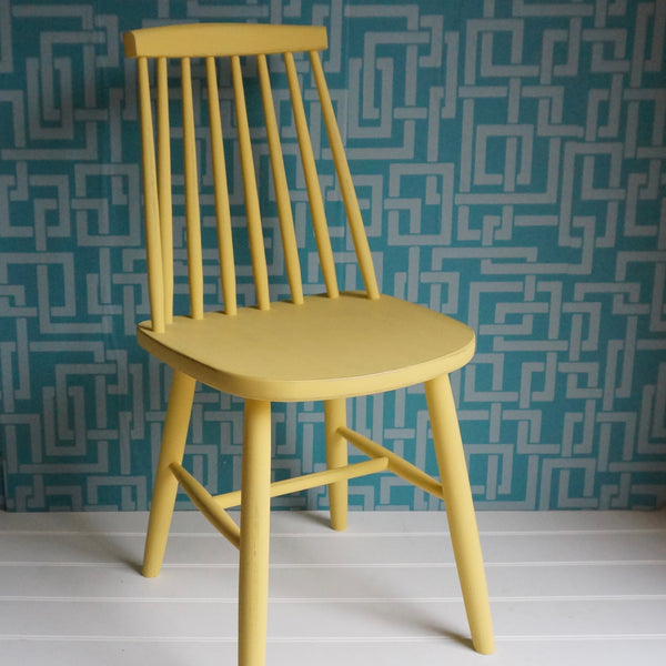 Painted Mismatched Chair Set