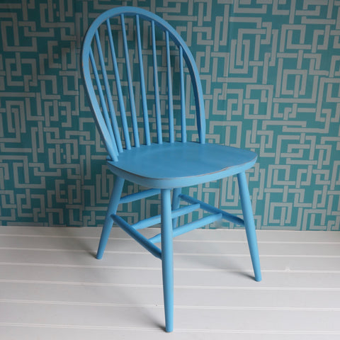 painted hoop back dining chair