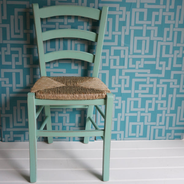painted Italian bistro chair