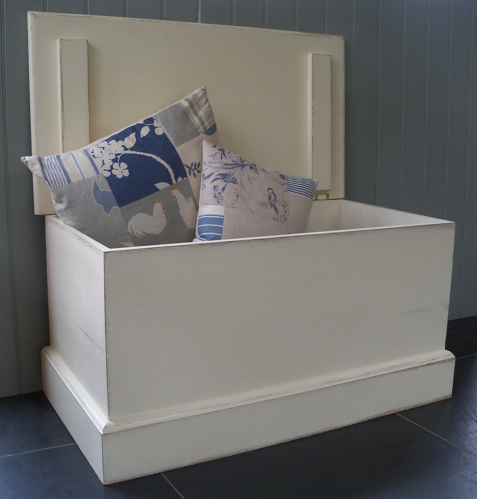painted blanket box