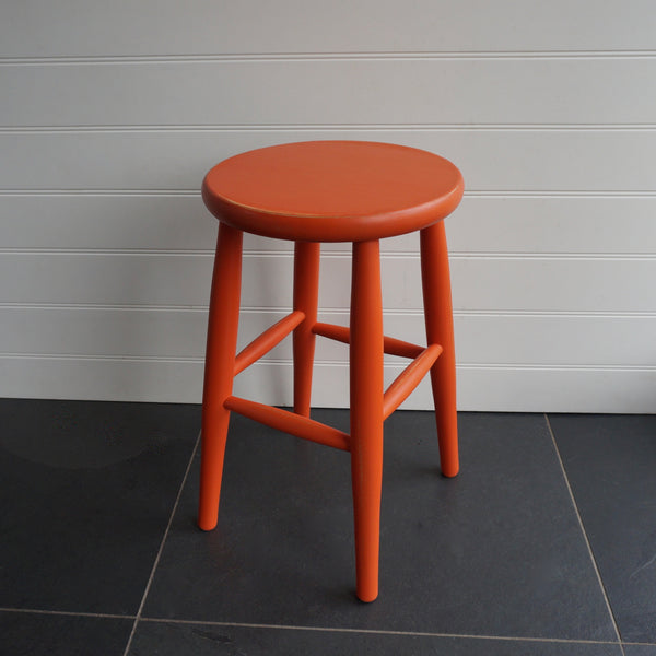 Ansty Painted Low Stool