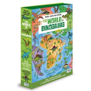 The World of Dinosaurs Book & 3D Puzzle