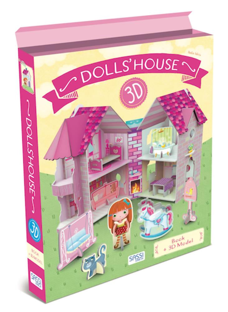 3D Doll's House & Book
