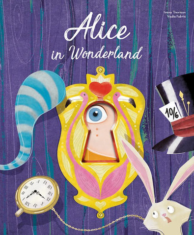 Alice in Wonderland Die-Cut Book