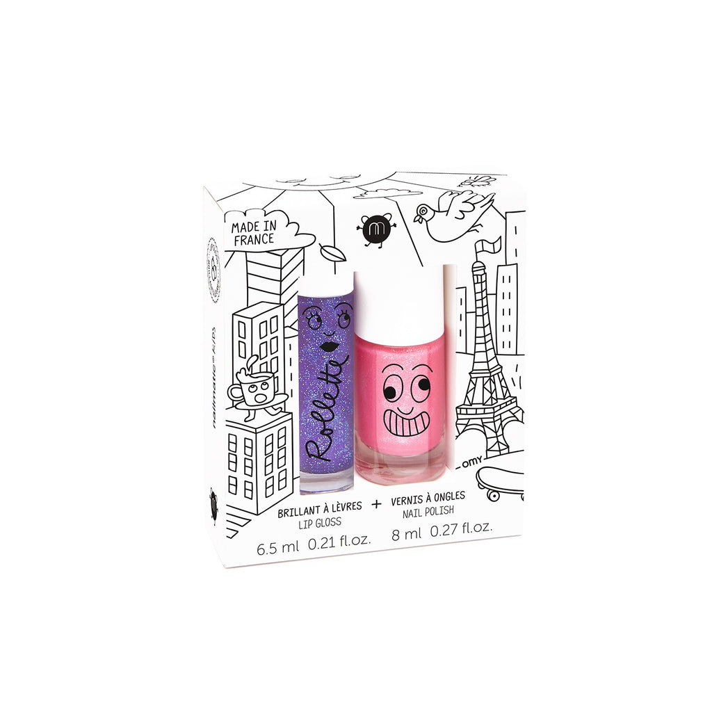 Nailmatic Fairytales Nail Polish Duo Set - Lovely City