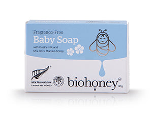 Biohoney Fragrance Free Baby Soap