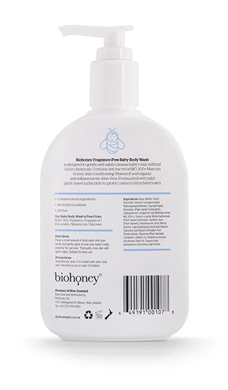 Biohoney Baby Body Wash 200ml