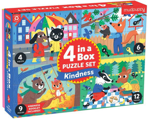 Mudpuppy Kindness Puzzle Set