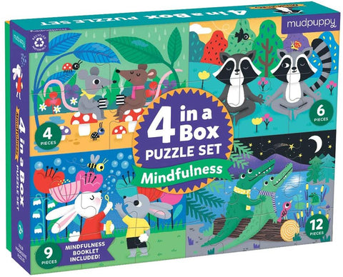 Mudpuppy Mindfulness Puzzle Set