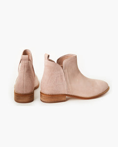 Blush Snake Douglas Leather Boot