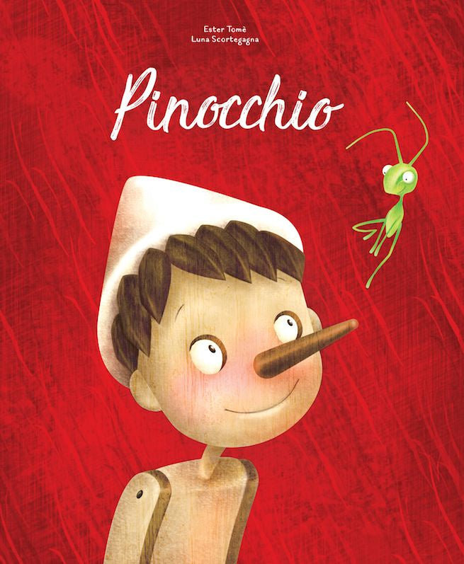 Pinocchio Die-Cut Book