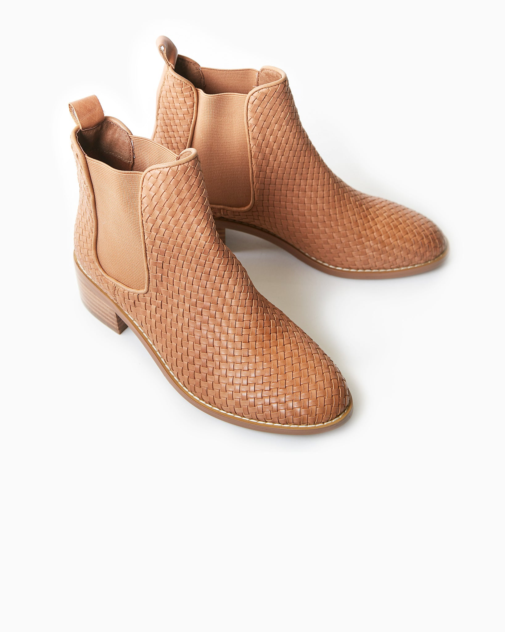 Grace Weave Leather Boot