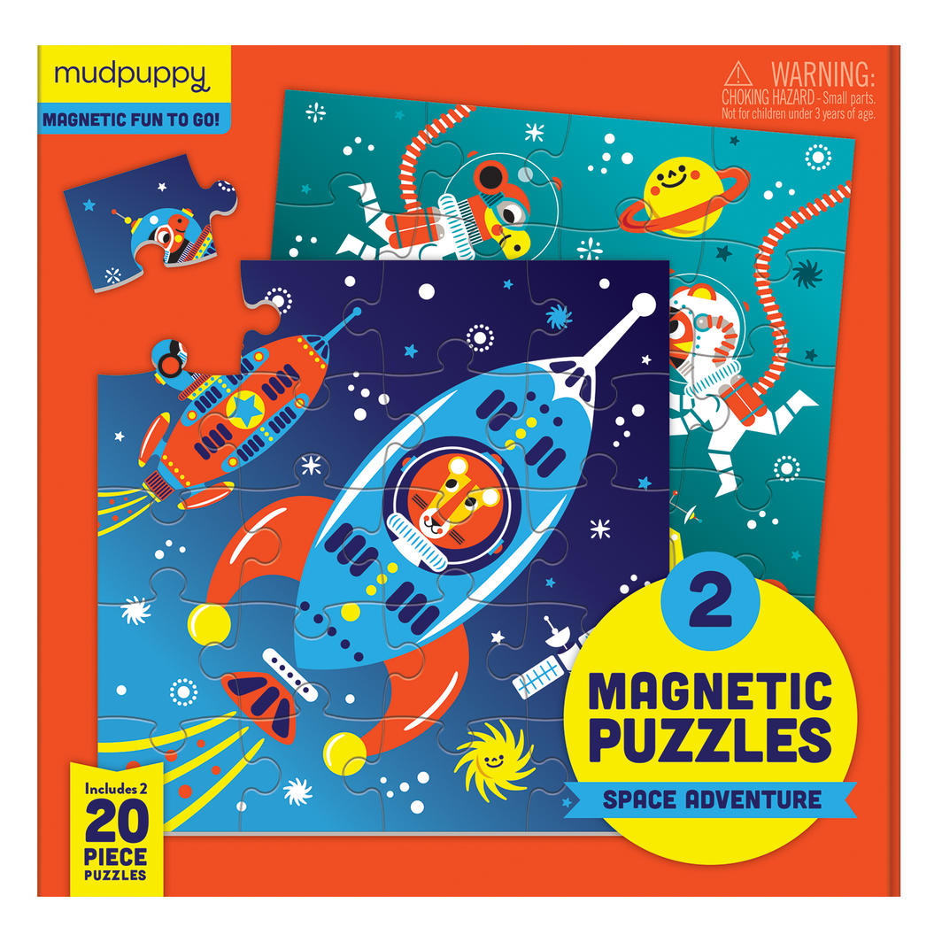 Mudpuppy Magnetic Outer Space Puzzle