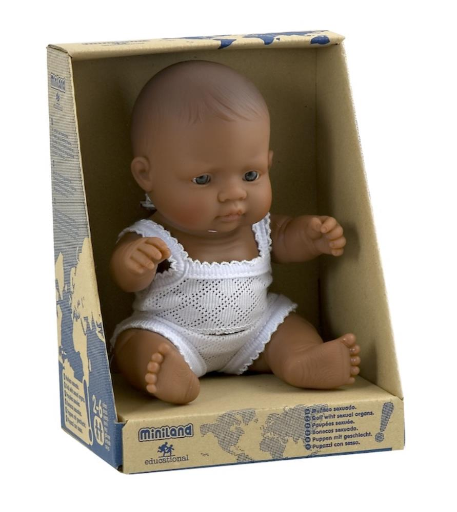 Miniland Anatomically Correct Baby Doll - 21cm