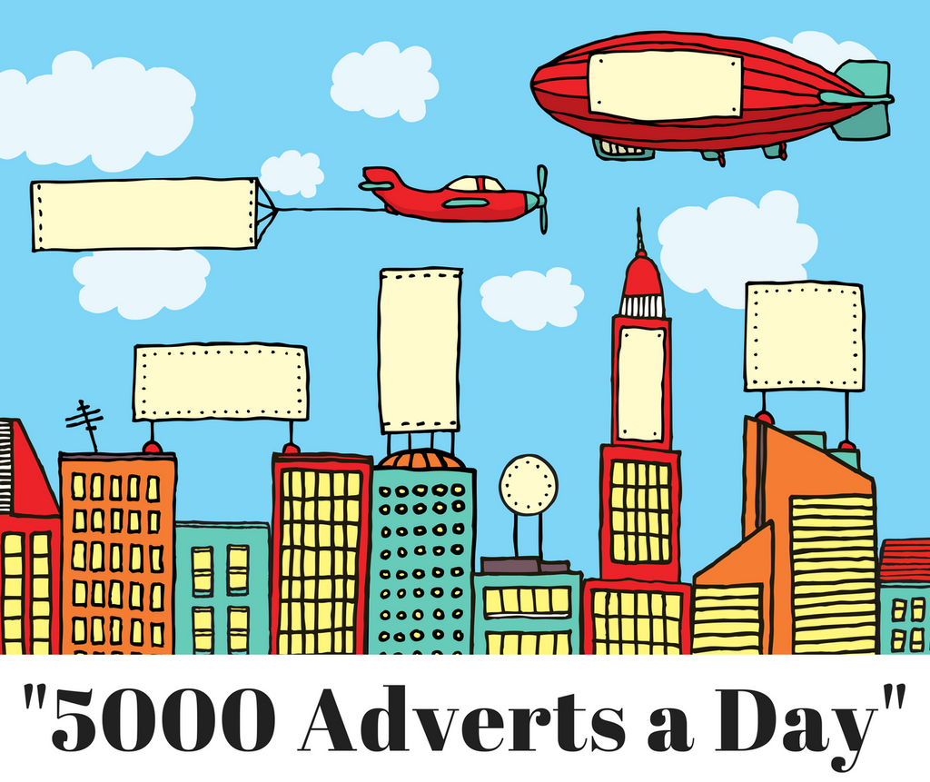 5000 adverts a day