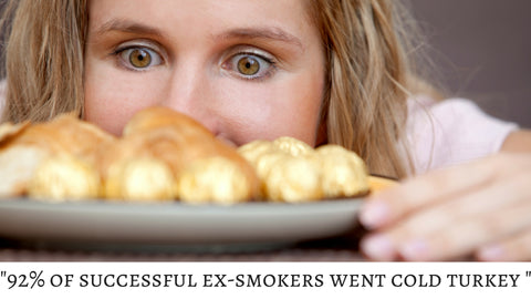 92% of successful ex-smokers used the cold turkey method