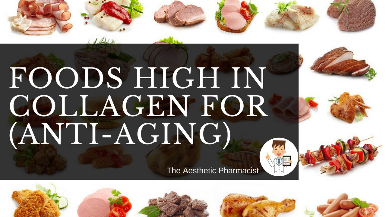 Foods High in Collagen