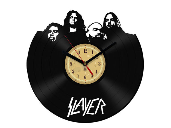 Vinyl Clock - Slayer