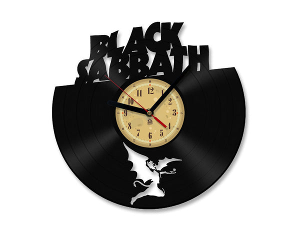 Vinyl Clock - Black Sabbath
