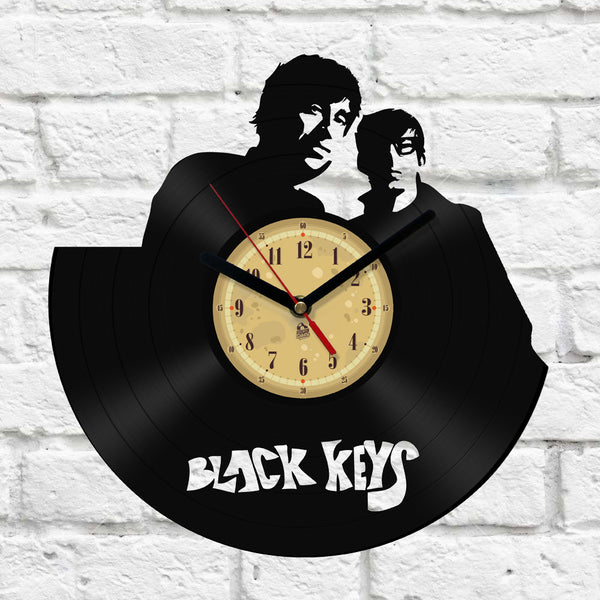 Vinyl Clock - Black Keys
