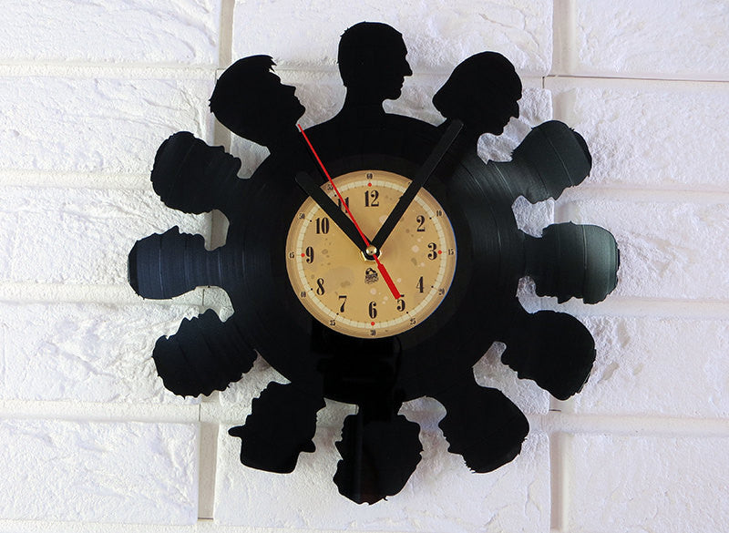 Vinyl Record Clock - Dr Who