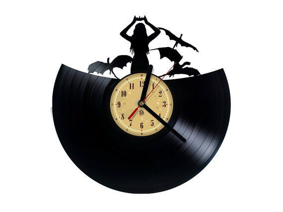 Vinyl Clock - Game of Thrones