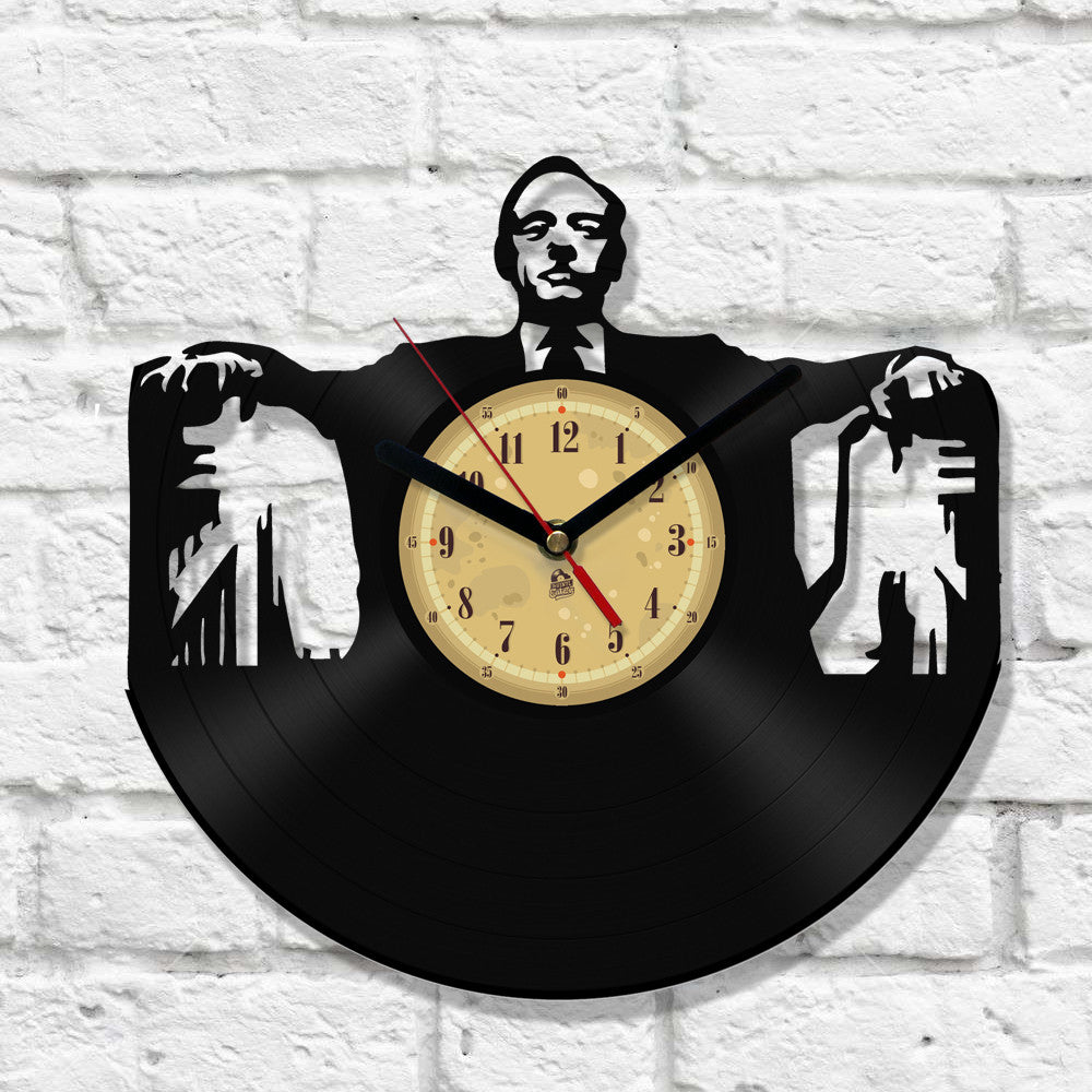 Vinyl Record Clock - Frank Underwood