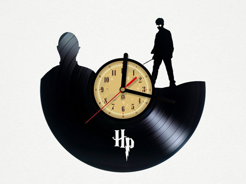 Vinyl Clock - Harry Potter