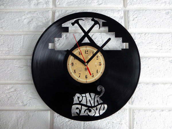 Vinyl Clock - Pink Floyd The Wall